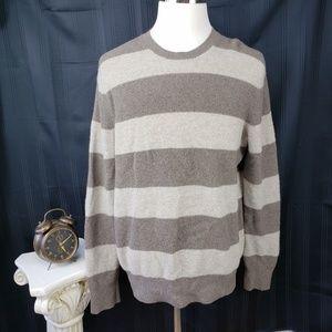 Banana Republic XL Italian Wool Striped Sweater